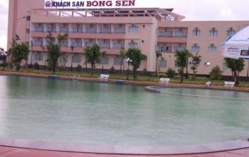 Hồ bơi Trung tâm hội nghị UBND tỉnh Hậu Giang